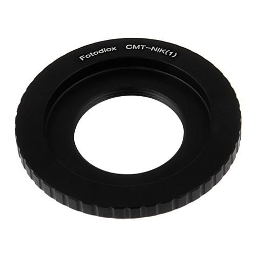 FotoDiox Adapter C-Mount Lens to Nikon 1 System Camera