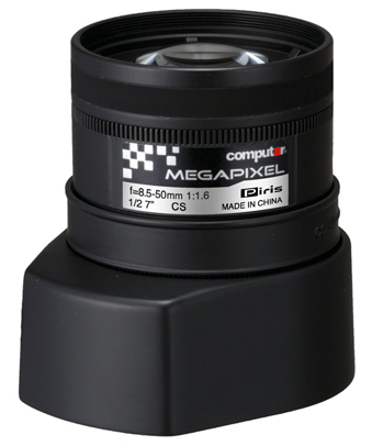 8,5 - 50,0 mm CS-Mount Computar 3MP Objektiv AG6Z8516KCS-MP