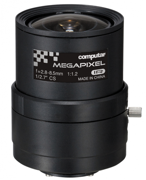 2,8 - 8,5 mm CS-Mount Computar 5MP Objektiv A3Z2812CS-MPWIR
