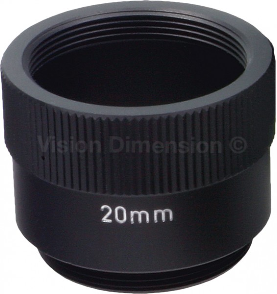 20 mm Zwischenring C-CS-Mount EXT-20 Tube matt-schwarz (antireflex) Pentax EXT-20 / Ricoh FP-RG20