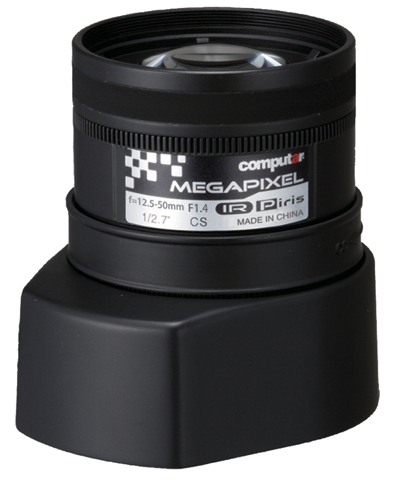 12,5 - 50,0 mm CS-Mount Computar 3MP Objektiv AG4Z1214KCS-MPIR