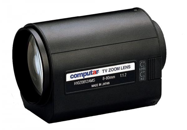 8 - 80,0 mm C-Mount Computar Motor Zoom Objektiv H10Z0812AMS