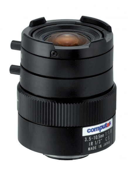3,5 - 10,5 mm CS-Mount Computar Objektiv T3Z3510CS-IR