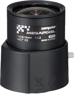 2.8 - 10 mm CS-Mount Computar Objektiv AG4Z2812FCS-MPIR DC