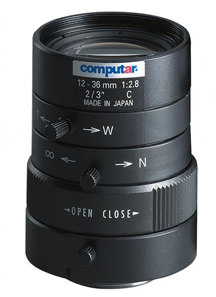 12 - 36 mm C-Mount Computar Objektiv M3Z1228C-MP