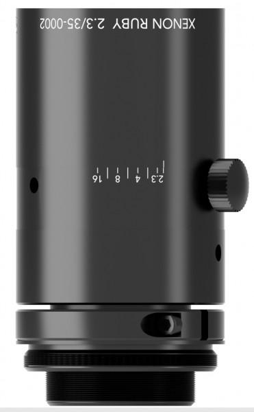 35 mm C-mount Schneider Kreuznach Objektiv Xenon-RUBY 2.3/35