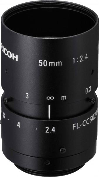 50 mm C-Mount Objektiv Ricoh FL-CC5024A-2M