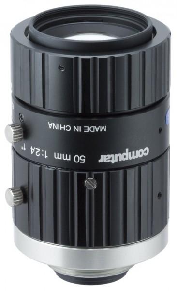 50 mm C-Mount 20MP Objektiv Computar V5024-MPZ - 2,4 / 50mm