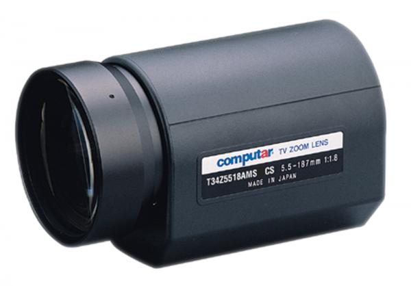 5,5 - 187,0 mm CS-Mount Computar Motor Zoom Objektiv T34Z5518AMS-CS