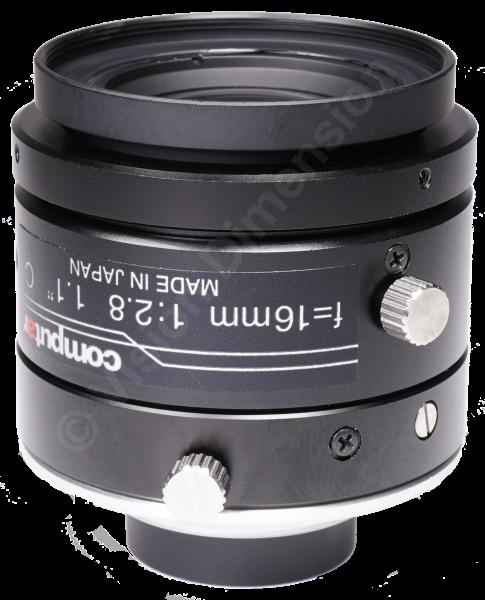 16 mm C-Mount 12MP Objektiv Computar V1628-MPY