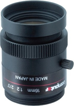 16 mm C-Mount Computar Objektiv M1680-MPW2-R Ruggedized