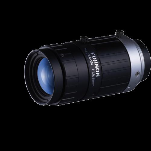 8 mm C-Mount Objektiv Fujinon HF8XA-5M - 1.6/8mm
