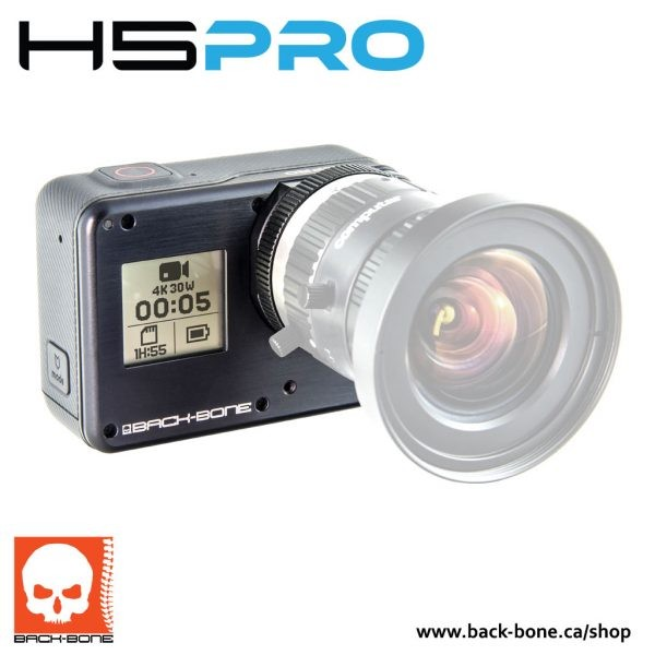 RIBCAGE H5PRO – MODIFIED HERO5 BLACK