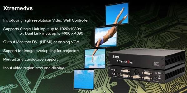 Videowall Xtreme4vs