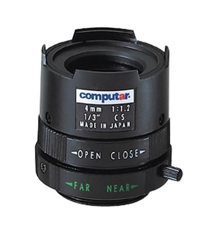 4,0mm Computar T0412FICS Manuell