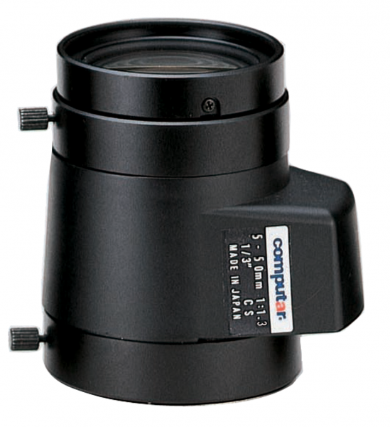5,0 - 50 mm CS-Mount Computar Objektiv TG10Z0513FCS DC