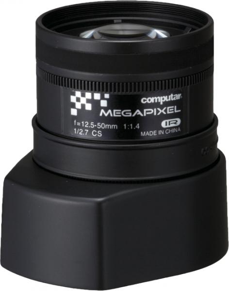 12,5 - 50 mm CS-Mount Computar Objektiv AG4Z1214FCS-MPIR DC