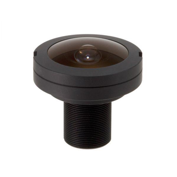 1,05mm Megapixel FA-BOARD-LENS 5 MP Fisheye Weitwinkel Objektiv M12 S-Mount 180° Öffnungswinkel HFOV  Computar L1028KRW Board Lens