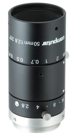 50 mm C-Mount 6MP Objektiv Computar M5028-MPW3