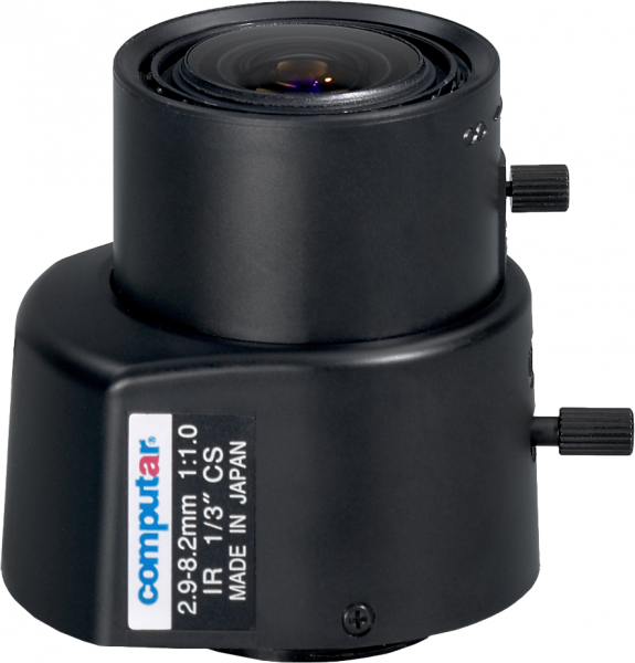 2,9 - 8,2 mm CS-Mount Computar Objektiv TG3Z2910FCS-IR DC