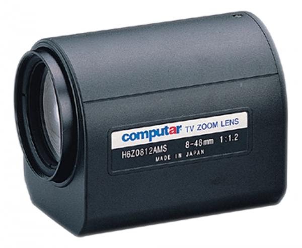 8 - 48,0 mm C-Mount Computar Motor Zoom Objektiv H6Z0812AMS
