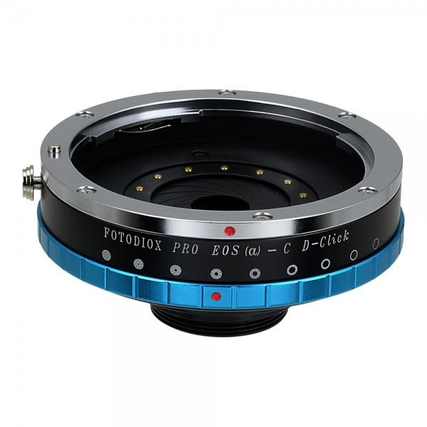 Fotodiox Adapter Canon EOS w/ iris control Lens to C-Mount