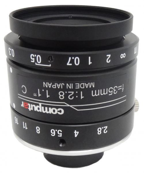 35 mm C-Mount 12MP Objektiv Computar V3528-MPY