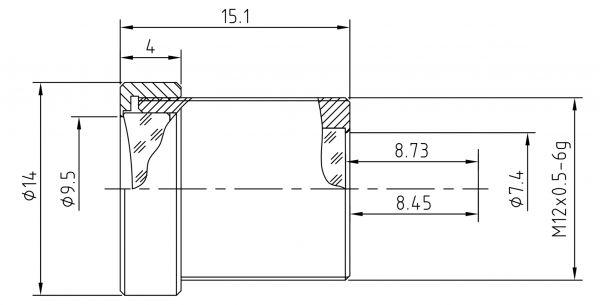 6mm Miniobjektiv BL-0616MP12IR