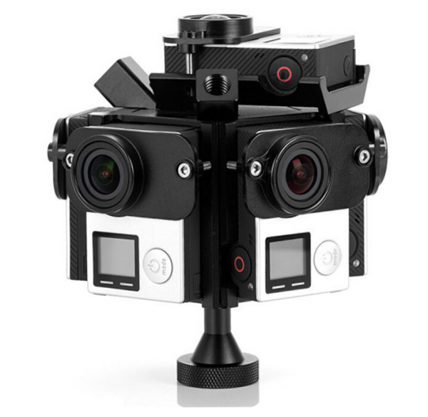 GP6A VR 360° GoPro Panorama Mount_Rig