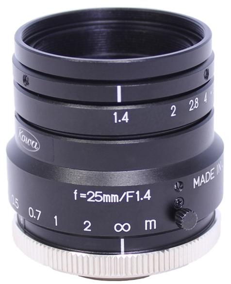 25 mm C-Mount Objektiv Kowa LM25HC