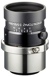 50 mm C-Mount Schneider Kreuznach Objektiv Xenon-TOPAZ 2,0/50-0901