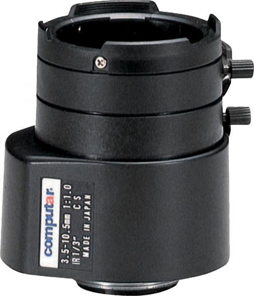 3,5 - 10,5 mm CS-Mount Computar Objektiv TG3Z3510FCS-IR DC
