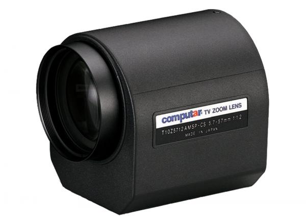 5,7 - 57 mm CS-Mount Computar Motor Zoom Objektiv T10Z5712AMSP-CS