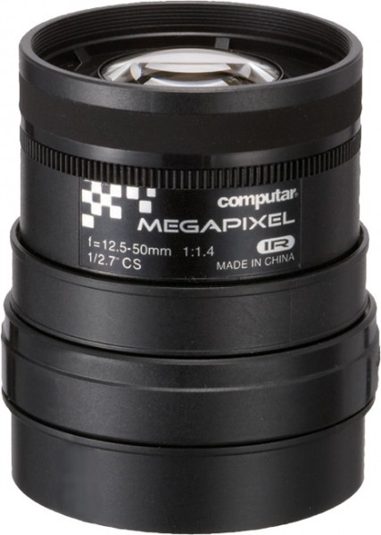 12,5 - 50 mm CS-Mount Computar 3MP Objektiv A4Z1214CS-MPIR