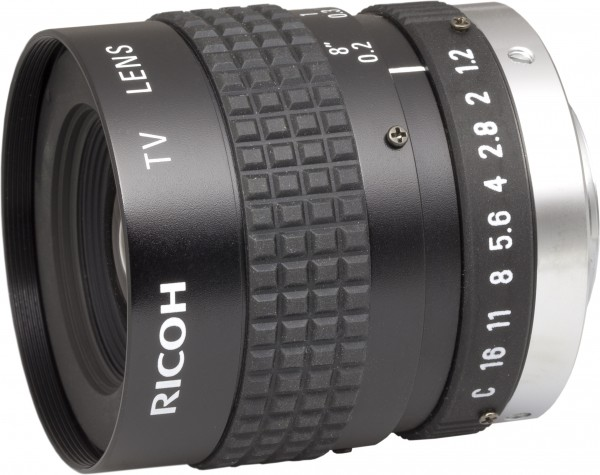 6 mm C-Mount Objektiv Pentax H612A (KP) / Ricoh FL-HC0612A-VG - 1.2 / 6mm