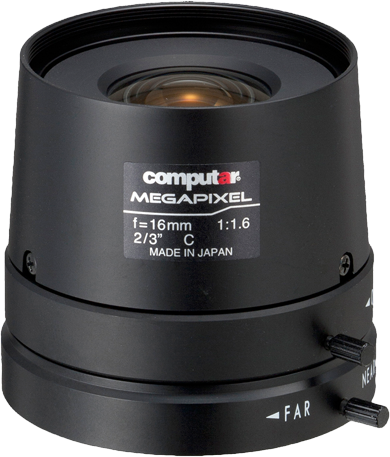 16 mm  C-Mount Computar Objektiv M1616FIC-MP