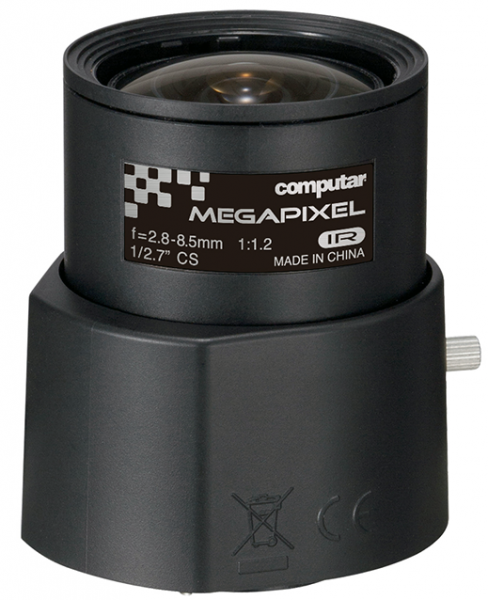 2,8 - 8,5 mm CS-Mount Computar 5 MP Objektiv AG3Z2812FCS-MPWIR