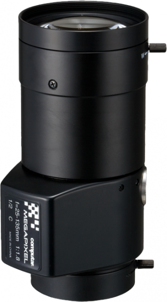 25,0 - 135,0 mm C-Mount Computar Objektiv HG5Z2518FC-MP DC