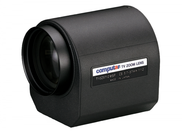 5,7 - 57 mm CS-Mount Computar Motor Zoom Objektiv T10Z5712MSP-CS