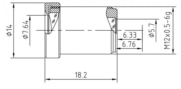 6mm Megapixel Mini-Objektiv BL-0618MP127IR