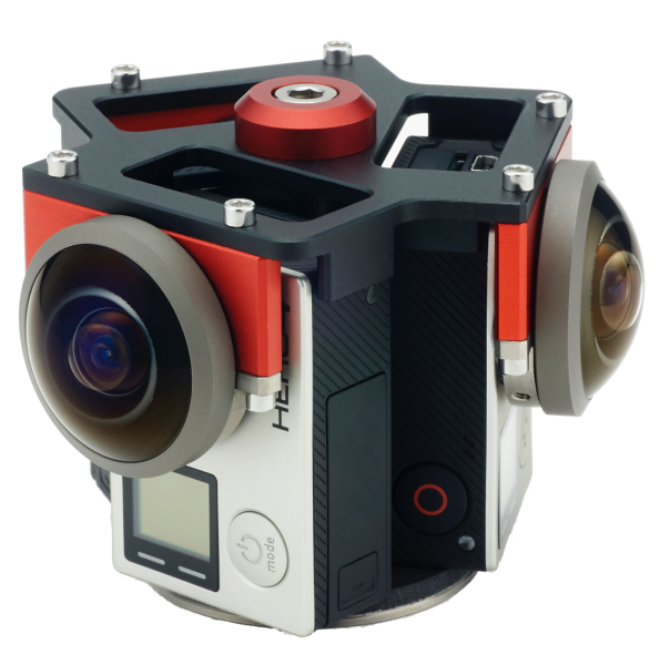 Entaniya 3 Cam Rig for GoPro