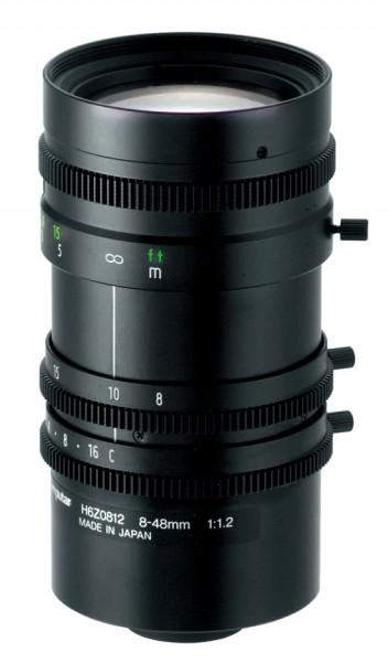 8,0 - 48,0 mm C-Mount Computar Objektiv H6Z0812