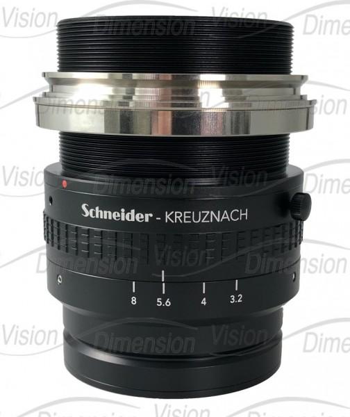 88 mm C-Mount Schneider Kreuznach Line Scan Objektiv Xenon-Sapphire 3,2/88-0001