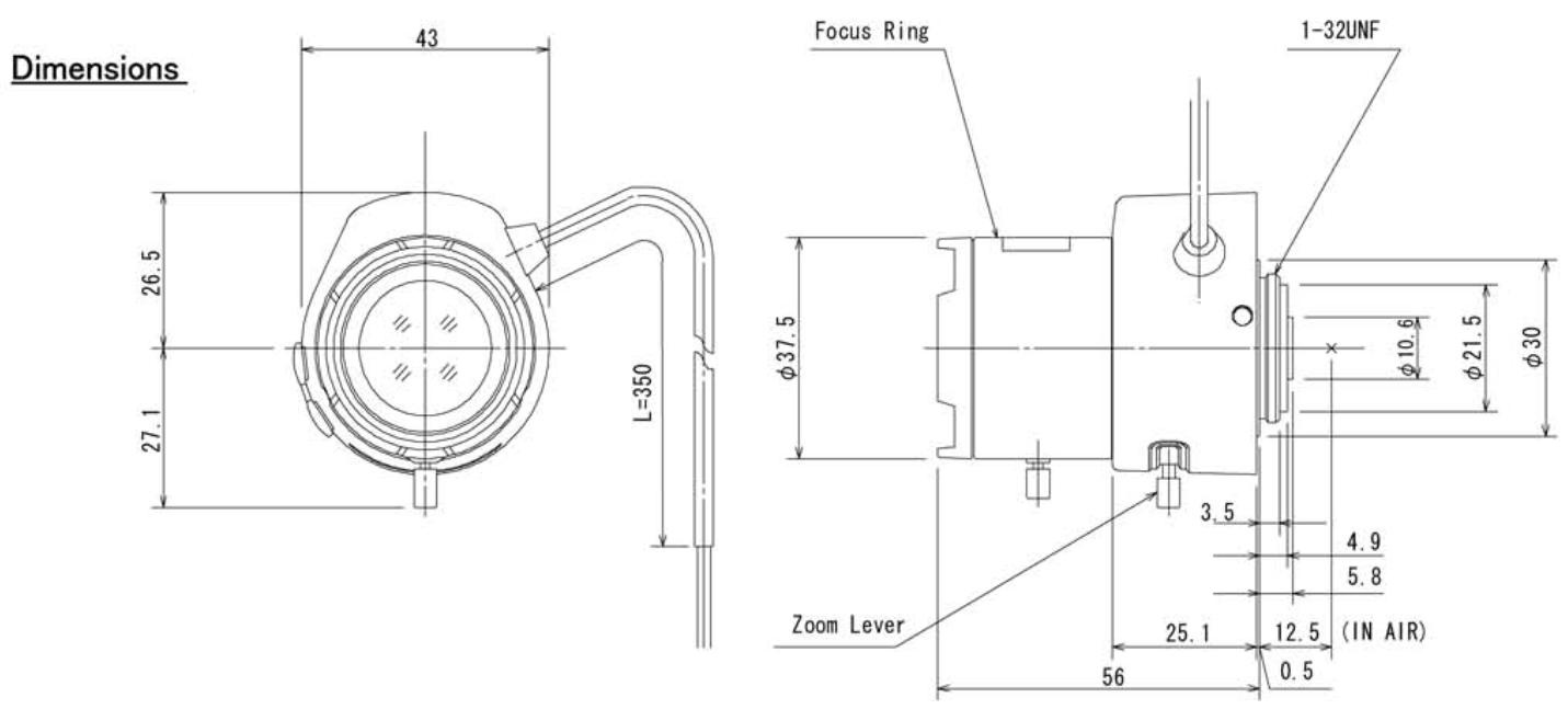 COMPUTAR TG4Z2813AFCS-IR 1//3 2.8-12mm f1.3 A//I Day//Night IR