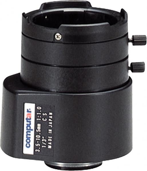 3,5 - 10,5 mm CS-Mount Computar Objektiv TG3Z3510FCS DC