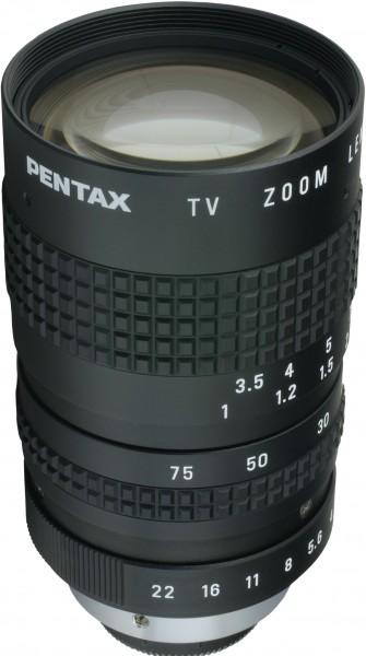 12,5 - 75 mm C-Mount Objektiv Pentax C31204 / Ricoh FL-CC6Z1218-VG