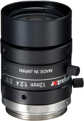 """12 mm C-Mount Computar 5 Megapixel Objektiv 5 M 2/3"""" F 2.4 - 16C M1224-MPW2"""