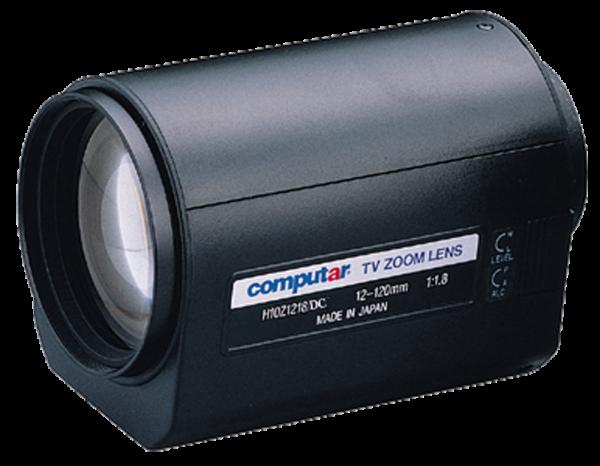 12 - 120,0 mm C-Mount Computar Motor Zoom Objektiv H10Z1218DC