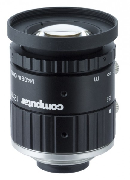 12 mm C-Mount 20MP Objektiv Computar V1226-MPZ - 2,6 / 12mm