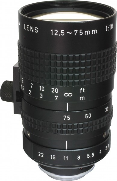 12,5 - 75 mm C-Mount Objektiv Pentax C31204KA / Ricoh FL-CC6Z1218A-VG